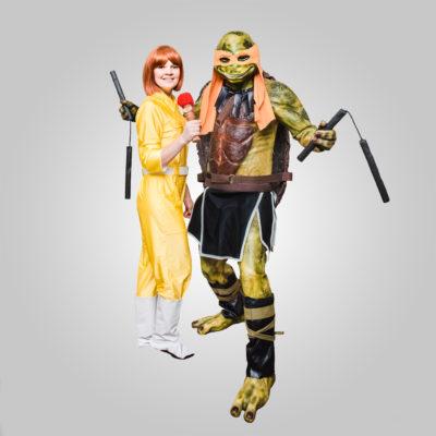 Черепаха-ниндзя и Эйприл
