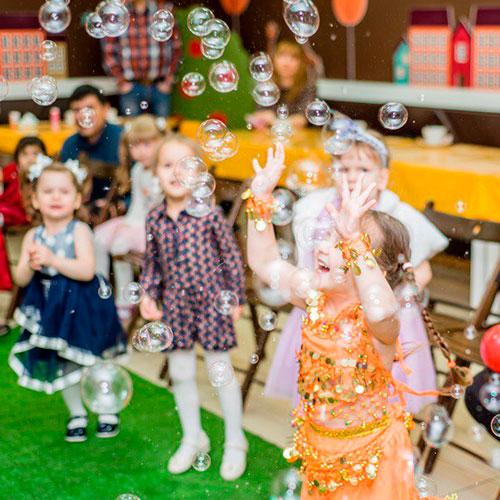 мыльные пузыри на детский праздник - радостное развлечение для детей и взрослых