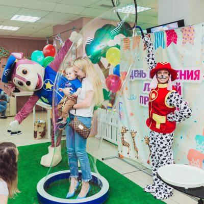 Щенячий патруль - шоу-программа для детского праздника, дня рождения, выпускного, фото