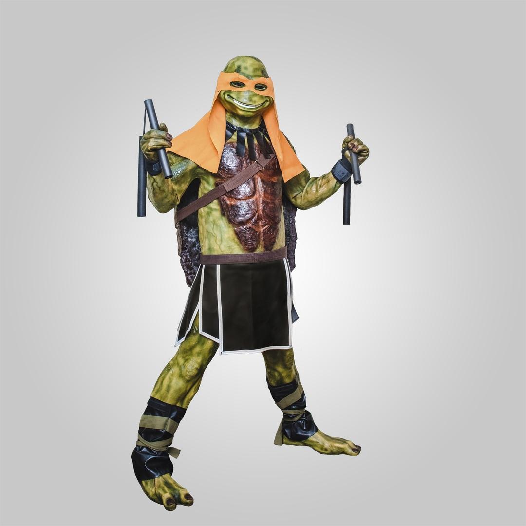 Черепаха-ниндзя — супер звезда