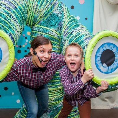 шоу программа Человека-пружины на детский праздник от 5 лет