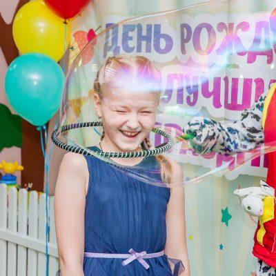Гигантские мыльные пузыри на празднике от студии Феерия, Северодвинск