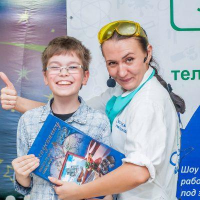 Научное шоу для детей, Воронеж, фото