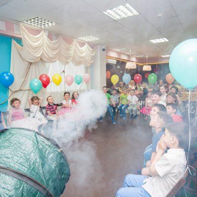 Сумасшедшая лаборатория - шоу-программа с химическими опытами, для детей 6 лет