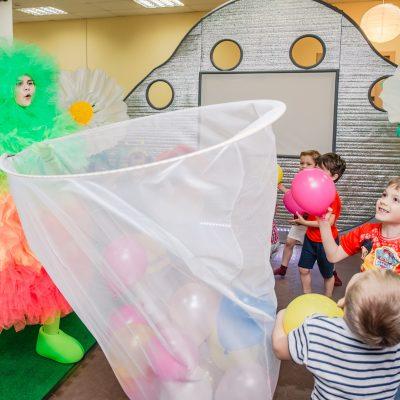 Игры и развлечения в Пушистый день рождения - фьеки шоу в Воронеже